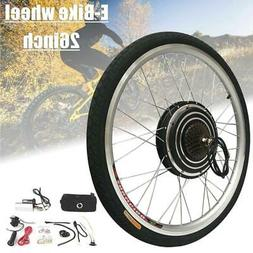 """1000W 48V 26"""" Front Rear Wheel Electric Bicycle Hub Motor E-"""