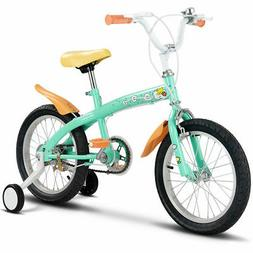 """16"""" Kids Bicycle Bike Outdoor Sports With Training Wheels Be"""