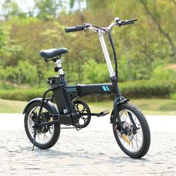 16Inch Folding Electric Commuter Bike,Electric Bicycles 250W