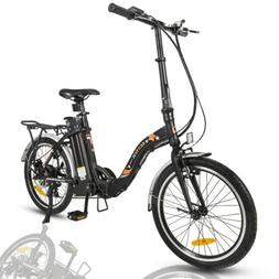 """ECOTRIC 20"""" 36V FOLDING Electric Bicycle eBike Removable Bat"""