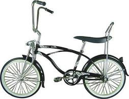 "20"" Beach Cruiser Bicycle Bike LowRider MBI Micargi Hero Bla"
