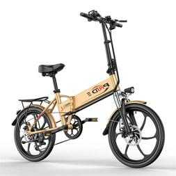 """ENGWE 20"""" Folding Electric Bicycle 48V 8AH Mountain Snow Cit"""