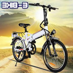 20 inch Electric Bike Folding Smart Mountain Bicycle Portabl