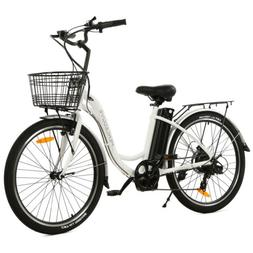 "ECOTRIC 26"" 36V 10Ah Electric Bicycle e-Bike with Bicycle Ba"