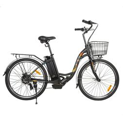 """ECOTRIC 26"""" 36V 10Ah Electric Bicycle e-Bike with Bicycle Ba"""