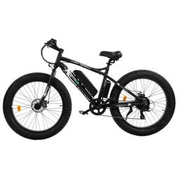 "26""500W 36V12Ah FatTire Mountain Beach Electric Bicycle Bike"