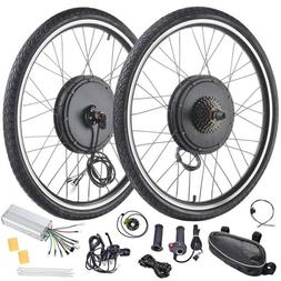 """26"""" Electric Bicycle Front/Rear Wheel 48V 1000W/1500W Ebike"""