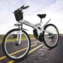 26'' Electric Bike E-bike Mountain Bicycles City Folding Cyc