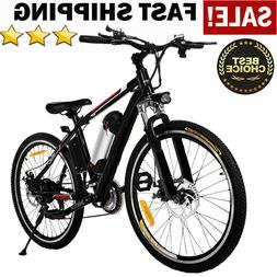 "Shimano 26''/27.5"" Electric Bike Mountain Bicycle Ebike 21/2"