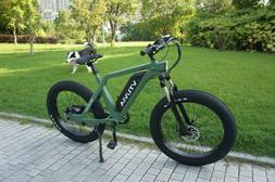 """26"""" Fat Tire 48V750W13AH Electric Bicycle Beach Mountain Cit"""