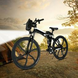 26in Folding eBike Electric Bicycles 250W Power w/ 8AH Lithi