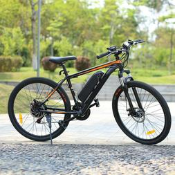 "350W 26"" Electric Bike Mountain Bicycle EBike SHIMANO 21 Spe"