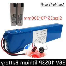 36v 10Ah rechargeable battery pack li-ion bicycle 500W E BIk