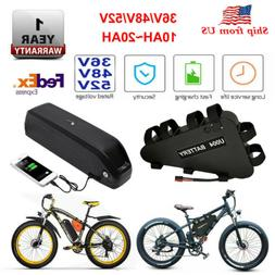 36V/48V/52V Lithium ion Pack E-Bike Battery with USB BMS for