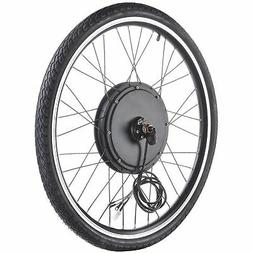"""48V 1000W 26"""" Front Wheel Electric Bicycle Motor Conversion"""