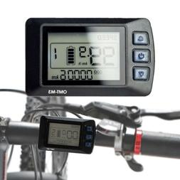 48V 1000W eBike Speed LCD Display Panel Electric Bicycle Con