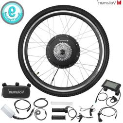 """Waterproof 48V 1000W Electric Bicycle Conversion Kit 26"""" Rea"""