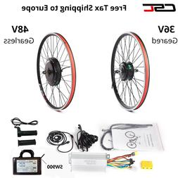 48V 1500W Wheel Electric Bicycle Motor Conversion Kit E Bike