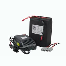 48v 20ah Rechargeable Li-ion Battery Pack for 1000W Ebike Sc