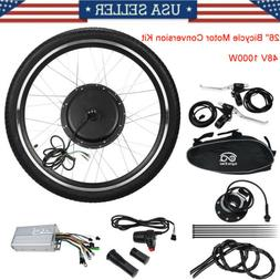"""48V 26""""Front Wheel Electric Bicycle Motor Conversion Kit 100"""