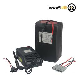 48V 30Ah Lithium ion Ebike Battery Pack 1500W Scooter Electr