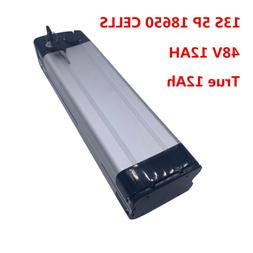 48V12AH EBIKE BATTERY Li-ion Lithium 3A Charger Rechargeable