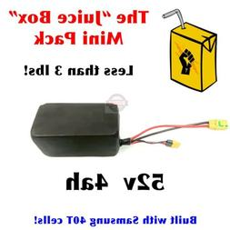 52V *4ah* Samsung 40T li-ion battery pack electric bicycle,