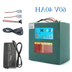 60V40Ah Lithium Battery Pack 3000W Ebike Bicycle Electric Sc