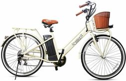 """NAKTO Adult Electric Bicycles 26"""" Electric Bikes for 250W 36"""