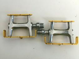 All City Gold Track Bike Pedals