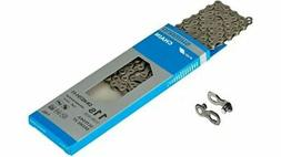 SHIMANO BICYCLE CHAIN CN HG701 11 SPD 116 ROAD/MTB W/QUICK L