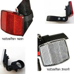 Bicycle Front Rear Reflector Bike Reflective Len Cycling Saf