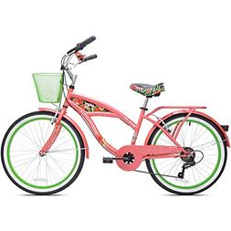 bikes for girls 24 inch bicycles Multi Speed Cruiser 7 speed