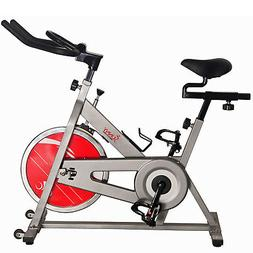 Sunny Health and Fitness Chain Drive Indoor Cycling Bike - S