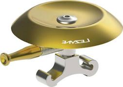 Lezyne Classic Shallow Brass Bell Silver CNC Machined O Ring