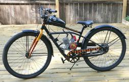 Collectable Limited Edition Fat Tire bicycle w/motor kit - $