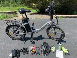 Cyclamatic CX2 Foldable Electric Bike NEW Complete w/optiona