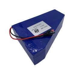 EBIKE Battery 15AH48V Triangle Li-ion Charger Lithium Rechar