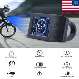 Ebike Bicycle Scooter 500C Display LCD Panel Speedmeter for