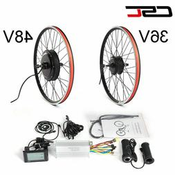 eBike Conversion Kit 26 27.5 inch Bicycle Wheel Pedal 36V 25