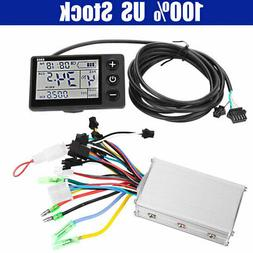 EBike Electric Bicycle Scooter Brushless Controller LCD Disp