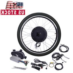"Electric Bicycle 26"" 48V 1000W Ebike Front Wheel Motor Conve"