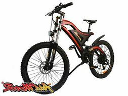 Addmotor Electric Bicycle Dual Suspension E-Bike 48V 500W 26