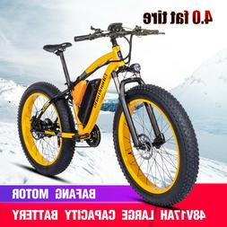 Electric bike ebike 48V1000W electric mountain bike 4.0 fat