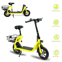 Electric Bike Portable Bicycle 350W Motor Lithium Battery EB