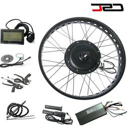 Electric Engine 26 wheel motor conversion kit 48V 1000W fat