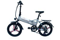 """Electric Folding 20"""" Bicycle Twist Shifter Disc Brake Easy S"""