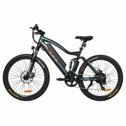 Addmotor Electric Mountain Bicycle Full Suspension Bike Supe