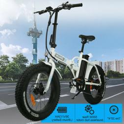 Electric Mountain Folding Bike Damping City Beach Bicycle Eb