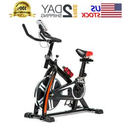 Exercise Bike Indoor Cycling Bike w/LCD Display Stationary B